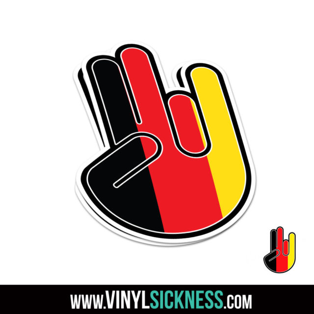 Jdm Shocker Germany Jdm Sticker Decal
