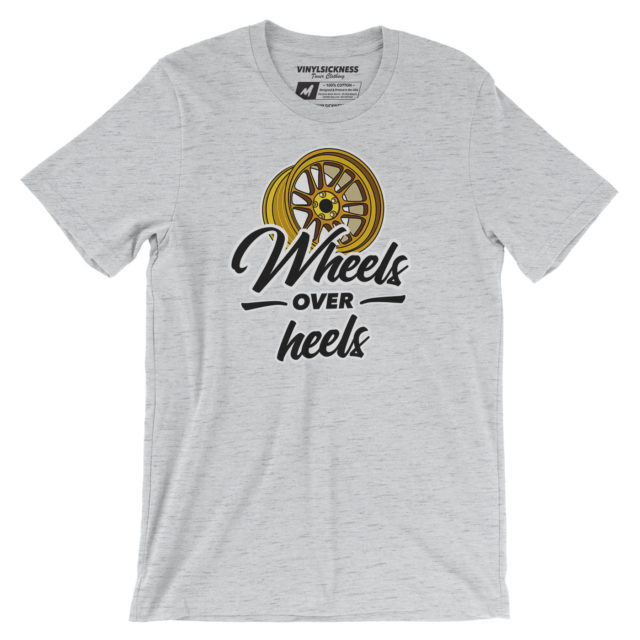 Wheels Over Heels Ash Tshirt