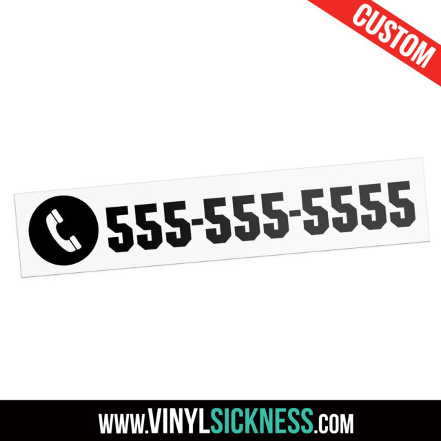 Custom Phone Sticker Decal Tag