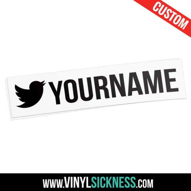Custom Twitter Username Simple