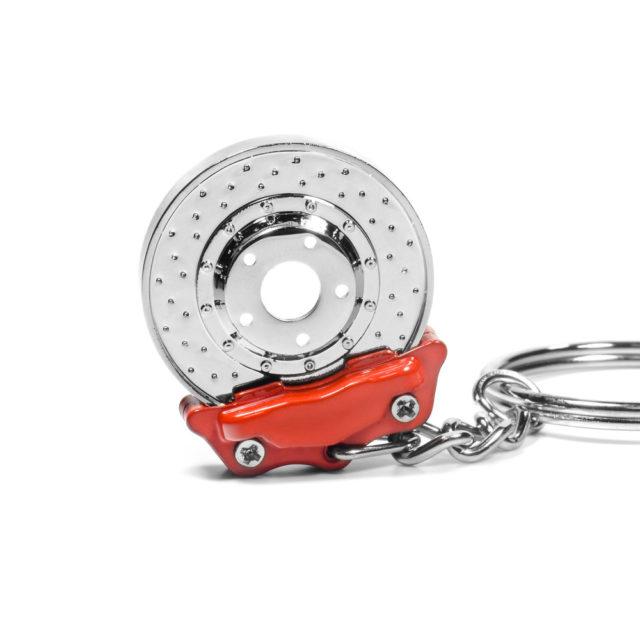 Disk Brake Up Side Jdm Tuner Keychain