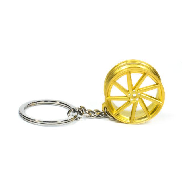 Gold Rim Jdm Keychain 2