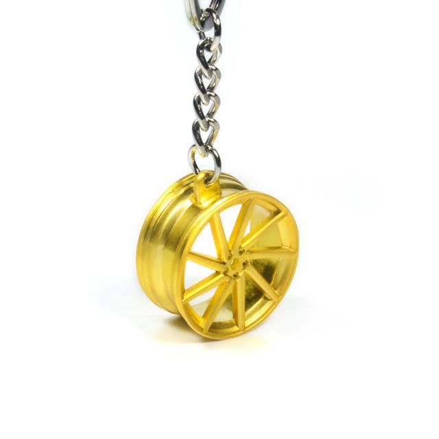 Gold Rim Jdm Keychain 4