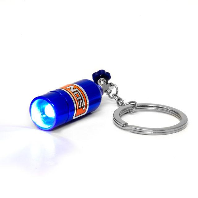Nos Led 2 Jdm Tuner Keychain