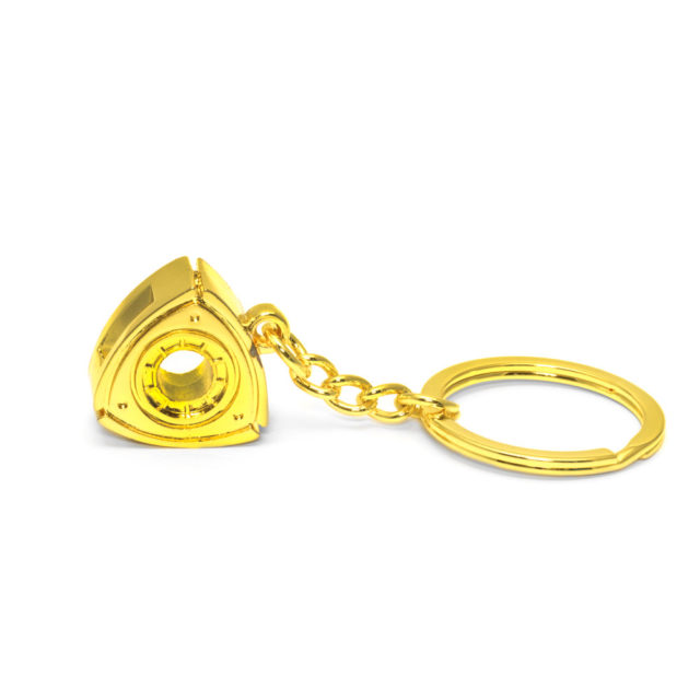Small Rotary Gold 2 Jdm Tuner Keychain