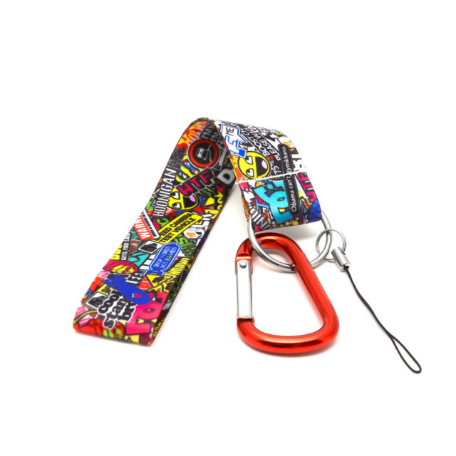 Sticker Bomb 3 Jdm Tuner Keychain
