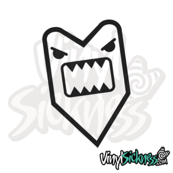 Angry Wakaba Domo Jdm Sticker / Decal