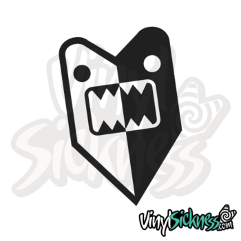 Bipolar Wakaba Domo Jdm Sticker / Decal