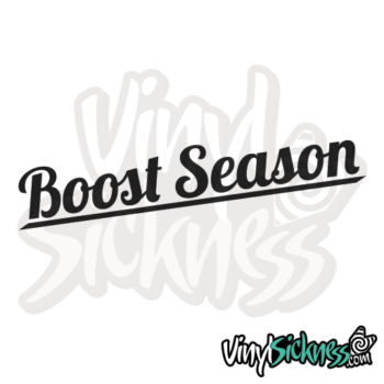 Boost Season Jdm Sticker / Decal