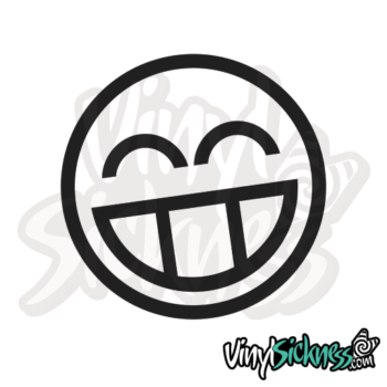 Cheesy Face Jdm Sticker / Decal