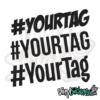 Custom Hashtag