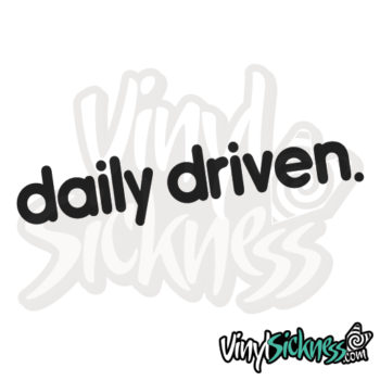 Daily Driven V3 Jdm Sticker / Decal