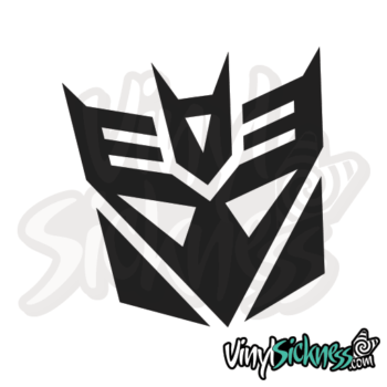 Decepticon Transformer Jdm Sticker / Decal