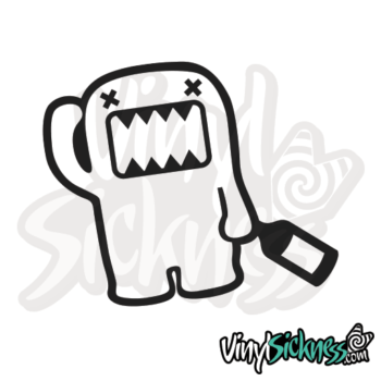 Drunk Domo Jdm Sticker / Decal