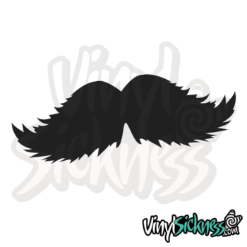 Flurry Mustache Jdm Sticker / Decal