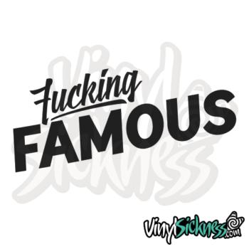 Fucking Famous Jdm Sticker / Decal