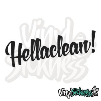 Hella Clean Jdm Sticker / Decal