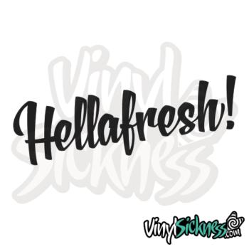 Hella Fresh Jdm Sticker / Decal