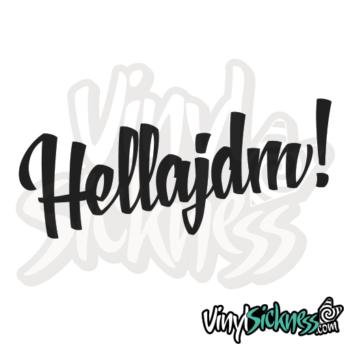 Hella Jdm Jdm Sticker / Decal