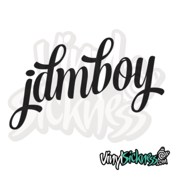 Jdm Boy Sticker / Decal