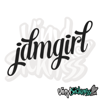 Jdm Girl Sticker / Decal