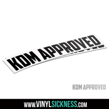 Kdm Approved