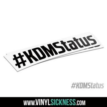 Kdm Status Hashtag