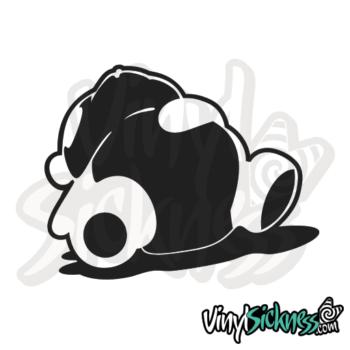 Lazy Panda Jdm Sticker / Decal