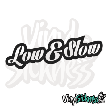 Low & Slow Jdm Sticker / Decal