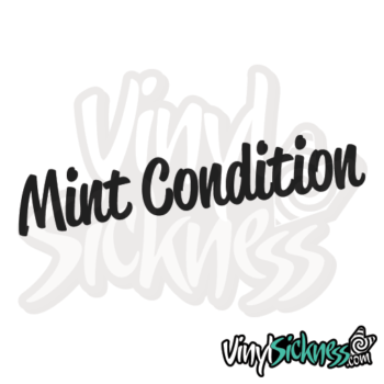 Mint Condition Jdm Sticker / Decal