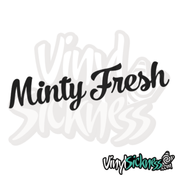 Minty Fresh Jdm Sticker / Decal