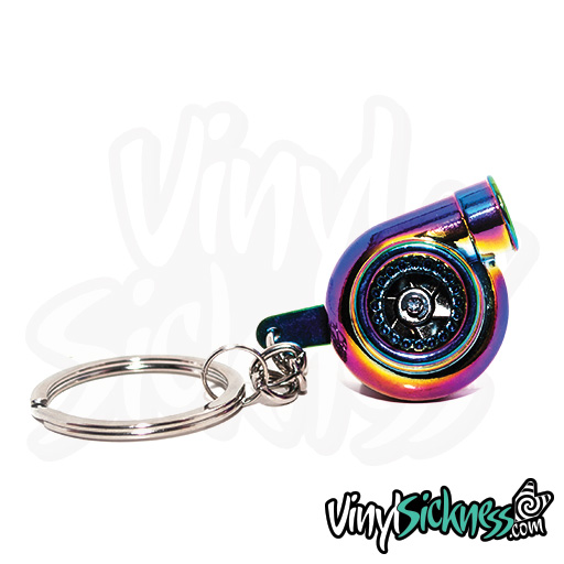 Neochrome Turbo Keychain 1