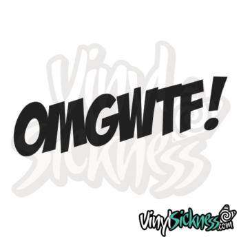 Omg Wtf Jdm Sticker / Decal