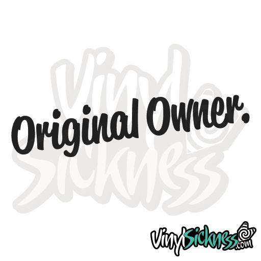 Original Owner