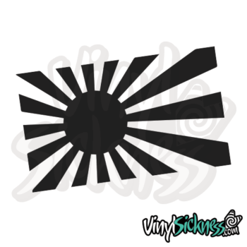 Rising Sun Japan Jdm Sticker / Decal
