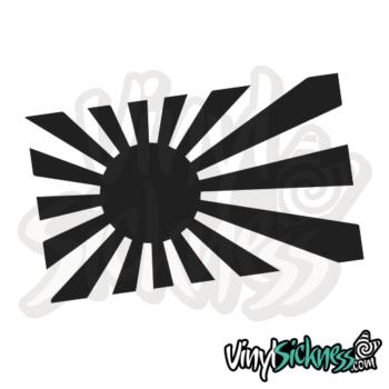 Rising Sun Japan Jdm Sticker / Decal