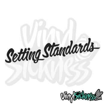 Setting Standards Jdm Sticker / Decal