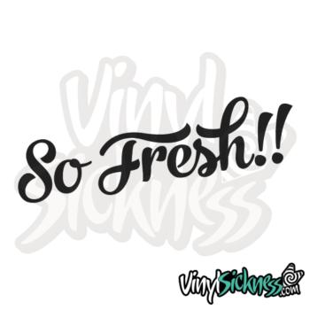 So Fresh Jdm Sticker / Decal