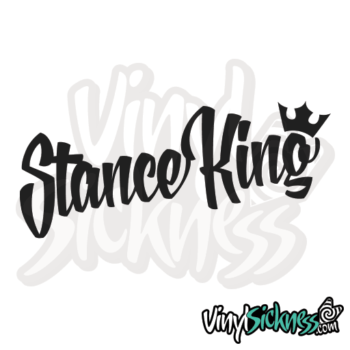 Stance King Jdm Sticker / Decal