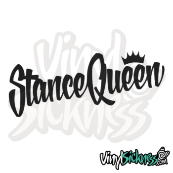 Stance Queen Jdm Sticker / Decal