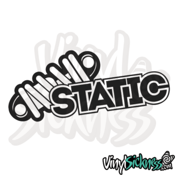 Static Jdm Sticker / Decal
