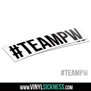 Team Pw Hashtag