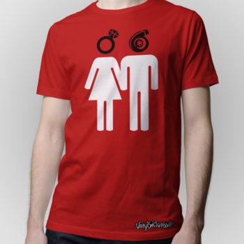 Women Like Rings Red Jdm Tuner Shirt
