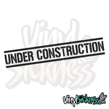Under Construction Jdm Sticker / Decal
