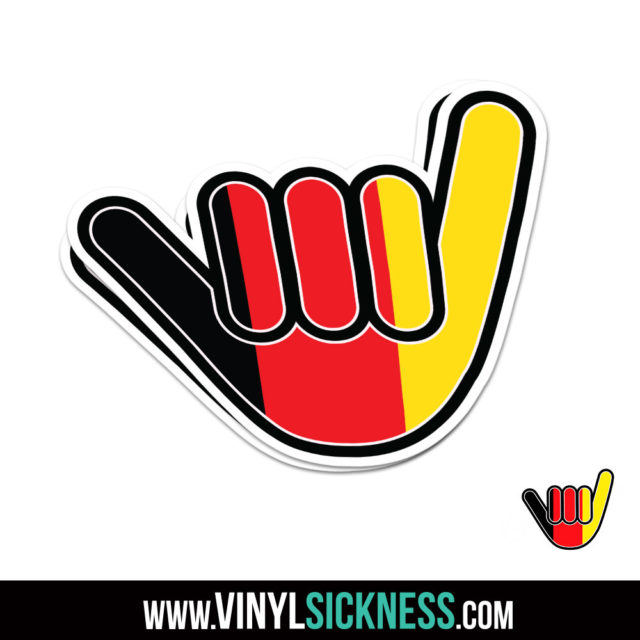 Germany Chill Hand Jdm Sticker Decal
