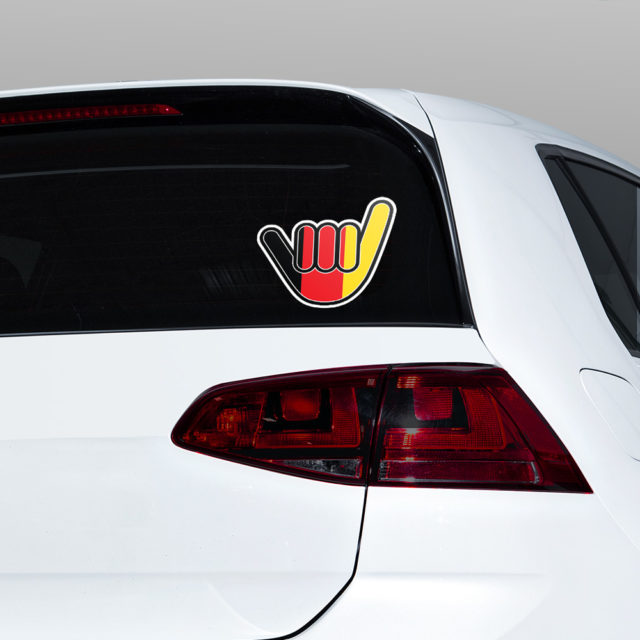 Germany Chill Hand Window Jdm Sticker Decal