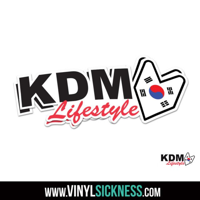 Kdm Lifestyle Jdm Sticker Decal