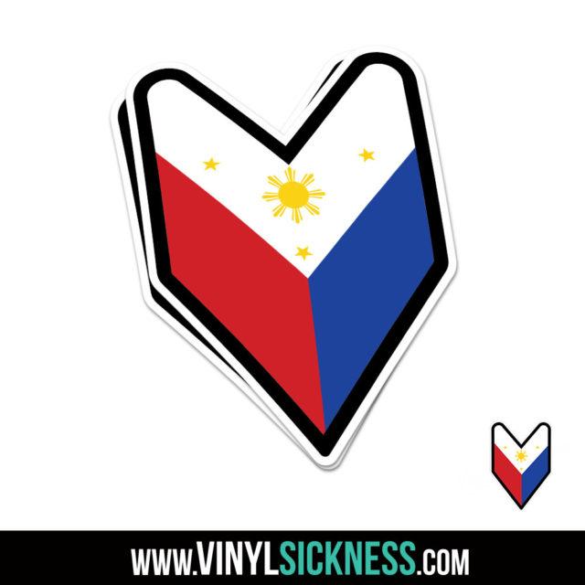Philippines Wakaba Jdm Sticker Decal