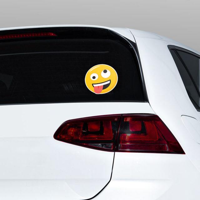Silly Emoji Window Jdm Sticker Decal