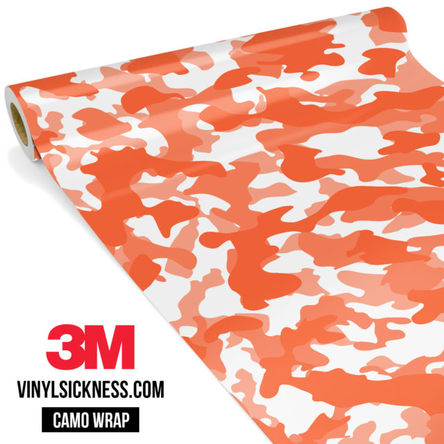 Apricot Camo Regular Vinyl Wrap Main